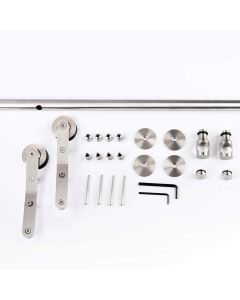 Stainless Steel Library Ladder Hardware