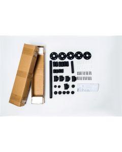 Industrial Iron Pipe 4 Piece Bathroom hardware Fixture Set